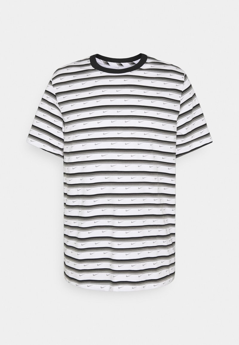 Nike Sportswear - Print T-shirt - white/black/iron grey