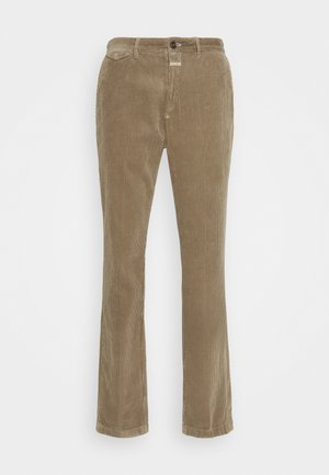 ATELIER TAPERED - Trousers - muddy beige