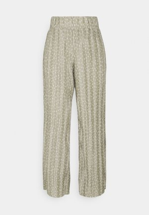 ONLELEMA PANTS  BOX - Trousers - desert sage