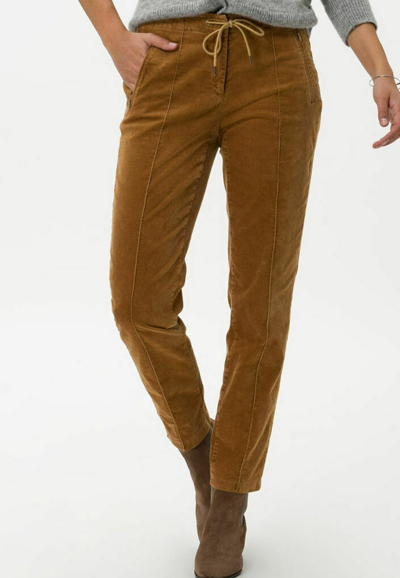 BRAX - STYLE MAREEN - Trousers - faded caramel