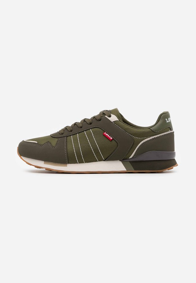 WEBB - Trainers - dark khaki