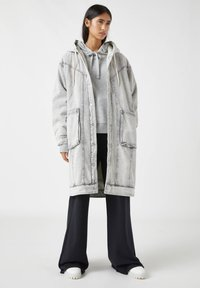 PULL&BEAR - Winter coat - mottled grey - 1