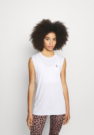 MUSCLE TANK YOGINI UP - Top - white