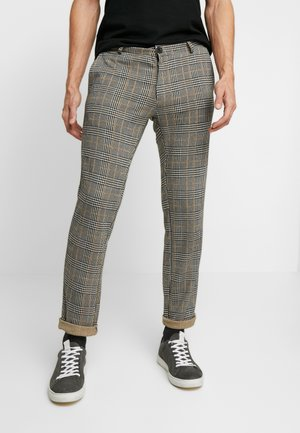 Pantaloni - black/yellow