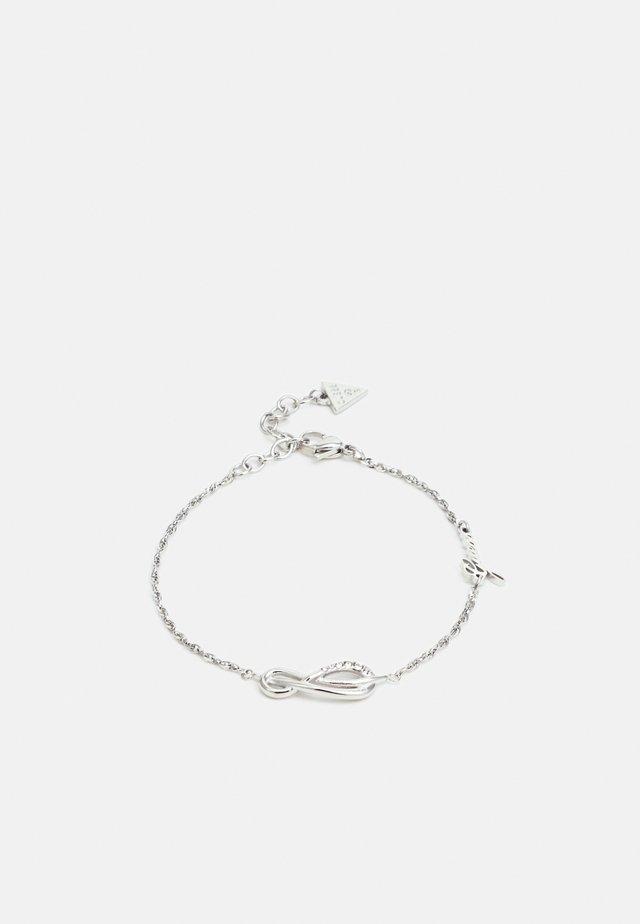 ETERNAL LOVE - Armband - silver-coloured