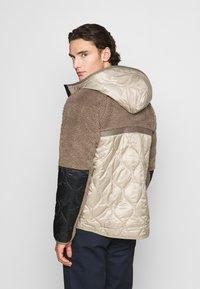 Nike Sportswear - WINTER - Winter jacket - olive grey/mystic stone/life lime - 2