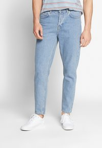 Solid - DAD - Jeans Tapered Fit - blue dnm - 0