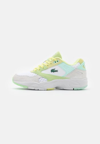 STORM  - Trainers - white/light yellow