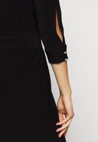 Lauren Ralph Lauren - CLASSIC LONG GOWN WITH TRIM - Robe de cocktail - black - 7