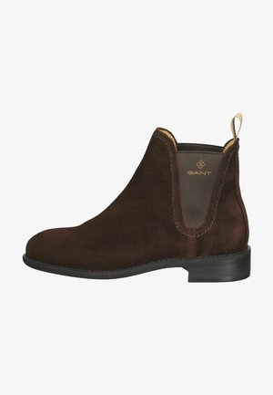 Classic ankle boots - dark brown g46