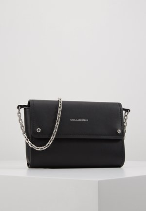 IKON POCHETTE ON CHAIN - Portfel - black