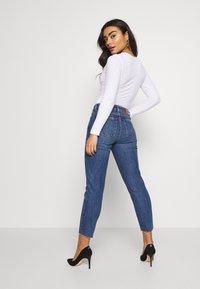 ONLY Petite - ONLEMILY - Jeans slim fit - dark blue denim - 2