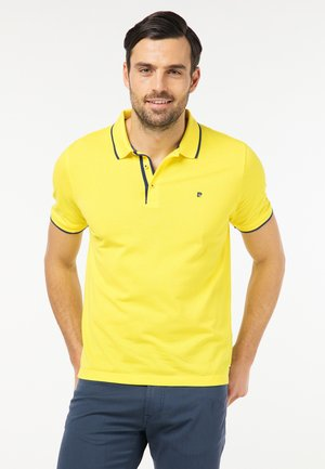 AIRTOUCH 3D PRINT - Polo shirt - yellow