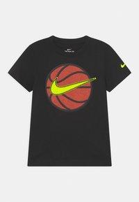 Nike Sportswear - FAUX BASKETBALL - Print T-shirt - black - 0
