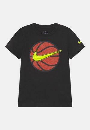 FAUX BASKETBALL - T-shirt print - black