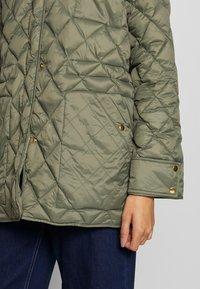 Part Two - ADDA - Classic coat - deep lichen green - 4