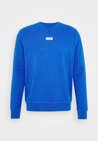 LOGO CREW - Sweatshirt - blue