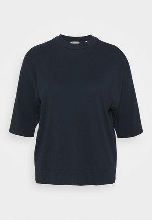 HIGH NECK - Basic T-shirt - dark night