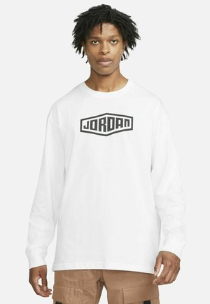 Maglietta a manica lunga - white/black/black