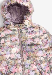 Next - SHOWER RESISTANT FLORAL PADDED  - Winter jacket - lilac - 2
