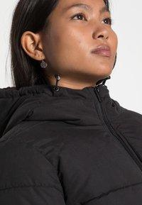 VILA PETITE - VITRUST  LONG JACKET - Winter coat - black - 4