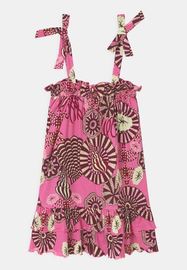 SHOULDER TIES - Žerzejové šaty - multi-coloured