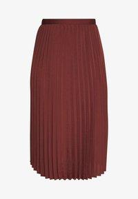 Rosemunde - A-line skirt - chestnut red - 4
