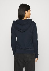 Abercrombie & Fitch - LONG LIFE FULL ZIP - Hettejakke - navy - 2