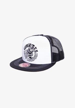 BASEBALL MIT NETZEINSATZ SUPER BEE - Cap - schwarz / wieß