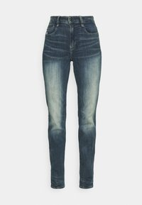 NOXER HIGH STRAIGHT - Straight leg jeans - antic faded baum blue