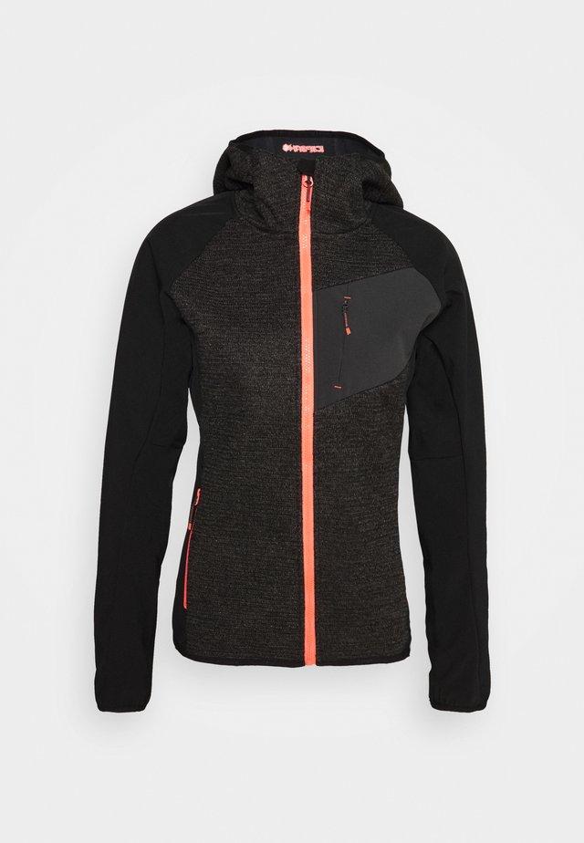 DAHLONEKA - Soft shell jacket - black