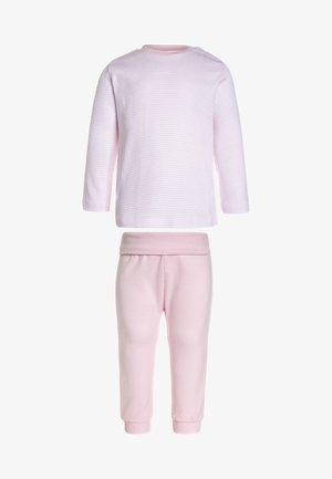 LONG BASIC RINGEL BABY - Pyžamová sada - magnolie