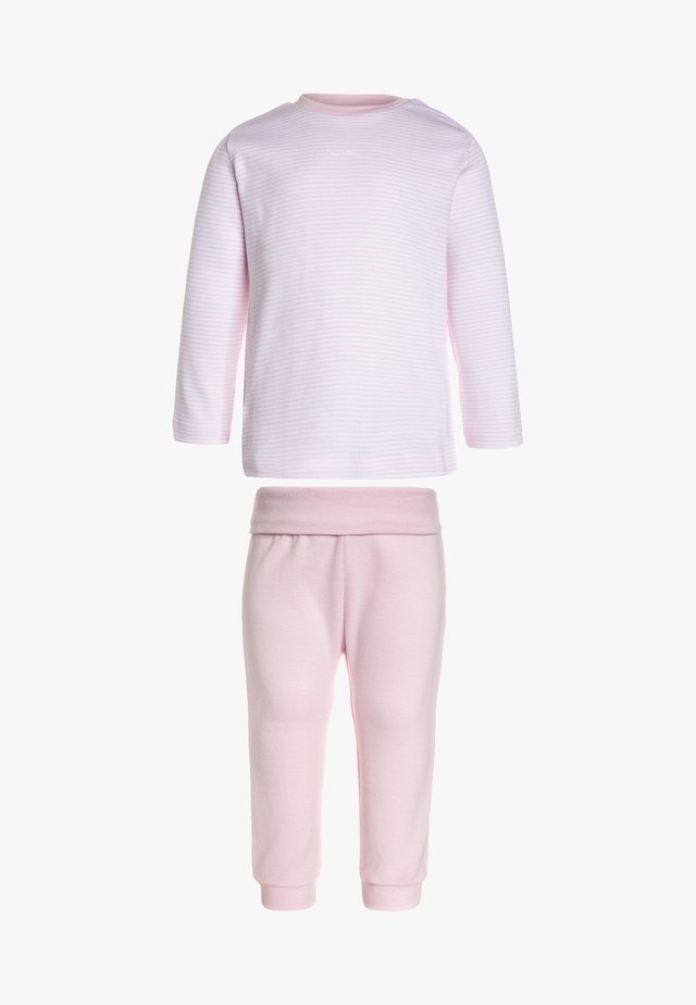 LONG BASIC RINGEL BABY - Pyjama - magnolie