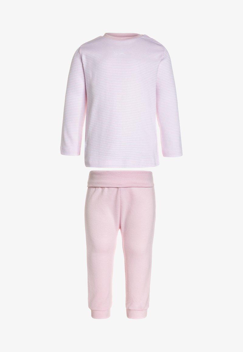 Sanetta - LONG BASIC RINGEL BABY - Pyžamová sada - magnolie