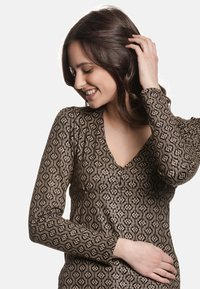 Vive Maria - GOLDEN LOVE - Blouse - schwarz allover - 3