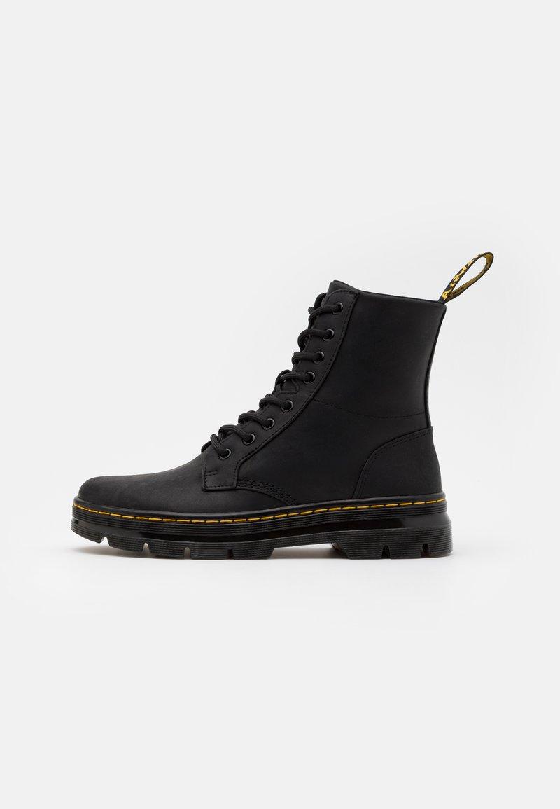 Dr. Martens - COMBS - Šněrovací kotníkové boty - black