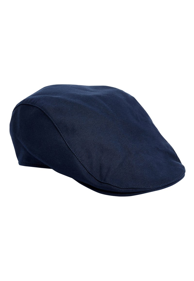 Next - NAVY CHAMBRAY FLAT CAP (OLDER) - Cap - blue