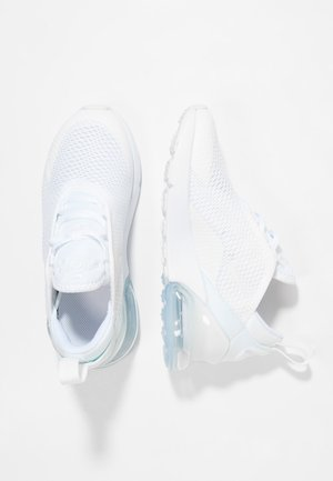 AIR MAX 270 UNISEX - Sneaker low - white/mtlc silver