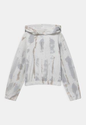 TIE DYE HOODIE - Sweatshirt - light grey