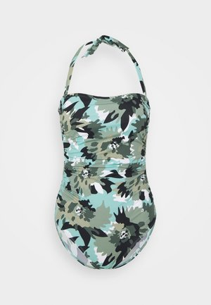 HERA BEACH - Swimsuit - khaki