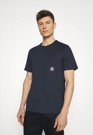 MOLTON TEE - Print T-shirt - true navy marl
