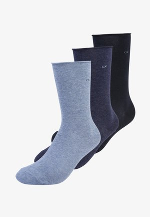 EMMA 3 PACK - Socks - denim navy