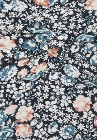 Abercrombie & Fitch - SLIM CROP CINCHED MIDI SET - Topper - navy floral - 2