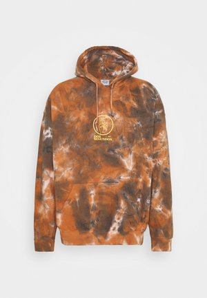DOS SEGUNDOS GRAPHIC HOODIE - Collegepaita - brown