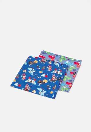 KIDS MULTIFUNKTIONSTUCH 2 PACK UNISEX - Kruhová šála - blue