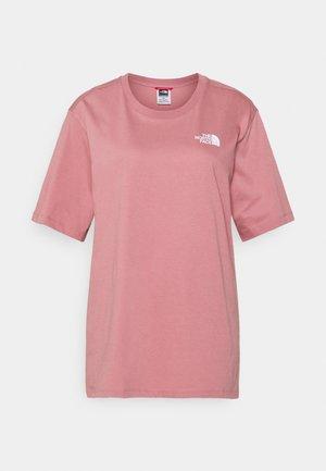 SIMPLE DOME - T-shirts basic - mesa rose
