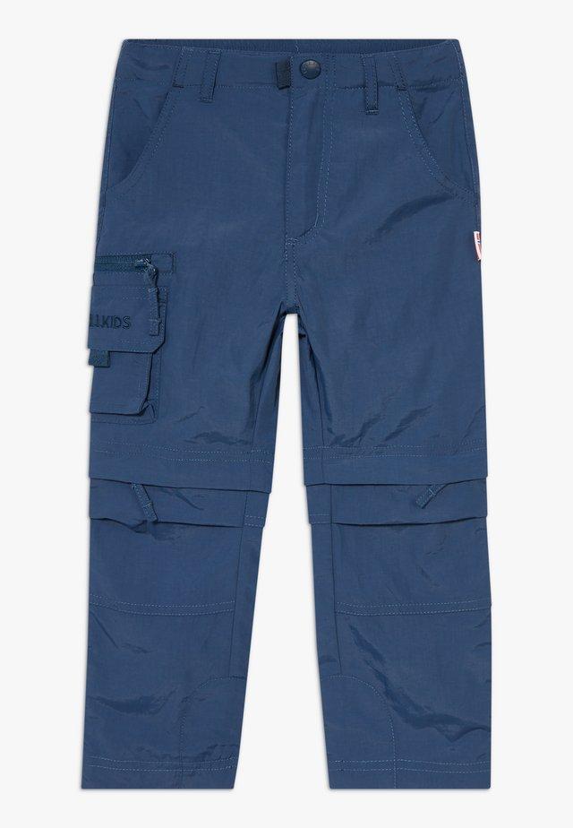 KIDS OPPLAND  - Pantalones montañeros largos - mystic blue