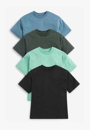 4PACK - Basic T-shirt - multi-coloured