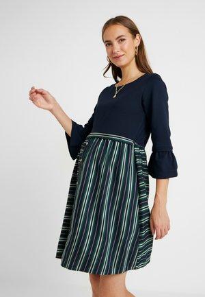 DRESS FOREST NURSING - Denní šaty - navy/green