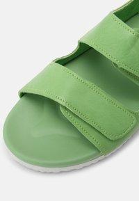 Cotton On - TRIPLE STRAP UNISEX - Sandals - spearmint - 4